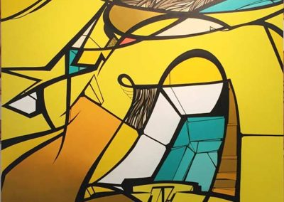 RESO-_Yellow_-aérosol-et-acrylique-sur-toile-courtesy-Adda-&-Taxie-Gallery